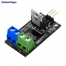 Модуль реле постійного струму транзисторний MOSFET 24В RobotDyn