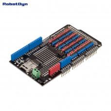 Плата розширення для підключення датчиків до Arduino Mega