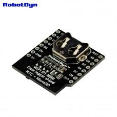 Модуль з RTC і MicroSD дата логгер для Wemos
