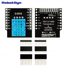 Модуль з датчиком температури і вологості DHT11 для Wemos