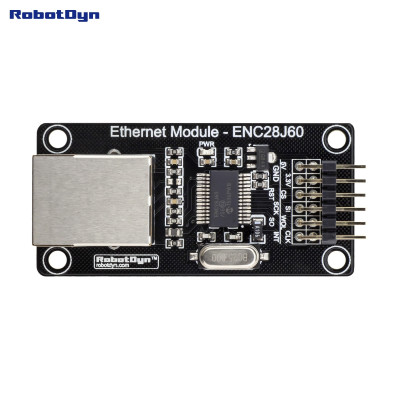 Модуль Ethernet - ENC28J60 Robotdyn