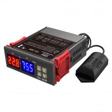 Контролер температури і вологості STC-3028 з датчиком