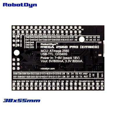 Плата контролер Mega 2560 PRO ATmega2560-16AU