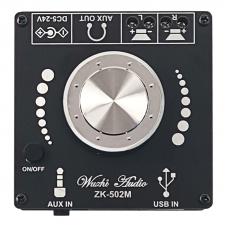 Стерео аудіо підсилювач ZK-502M з Bluetooth 5.0