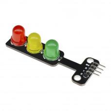 Модуль світлодіодний триколірний світлофор 5мм