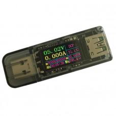 Usb тестер вольтметр, амперметр з дисплеєм 5A