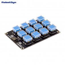 Модуль кнопкової клавіатури 3х4 RobotDyn