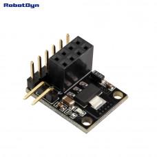 Роз'єм адаптер для NRF24L01 з регулятором 3.3В RobotDyn