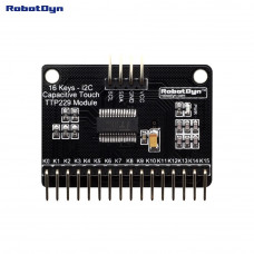 Сенсорний ємнісний модуль 16канальний TTP229 I2C RobotDyn