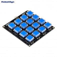 Модуль кнопкової клавіатури 4х4 RobotDyn