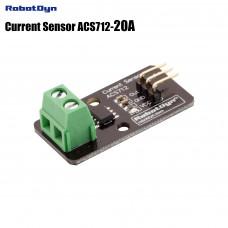 Модуль з датчиком струму ACS712 20А RobotDyn