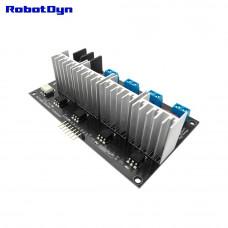 Діммер змінного струму чотирьохканальний 110 / 220V 10A RobotDyn