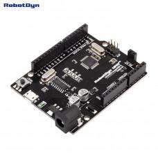 Плата контролер UNO R3 ATmega328 CH340G MicroUSB RobotDyn