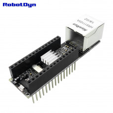 Мережевий Шилд W5500 (V2) для Nano v3 RobotDyn