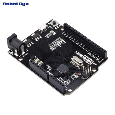 Плата контролер RobotDyn LEONARDO R3 ATmega32U4