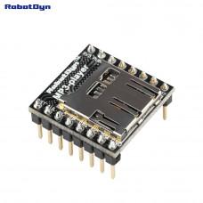 Аудіо модуль mp3 програвач c MicroSD зчитувачем