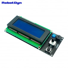 Контролер 3D принтера з РК екраном і картою пам'яті